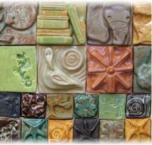 Bordurne in okrasne ploščice